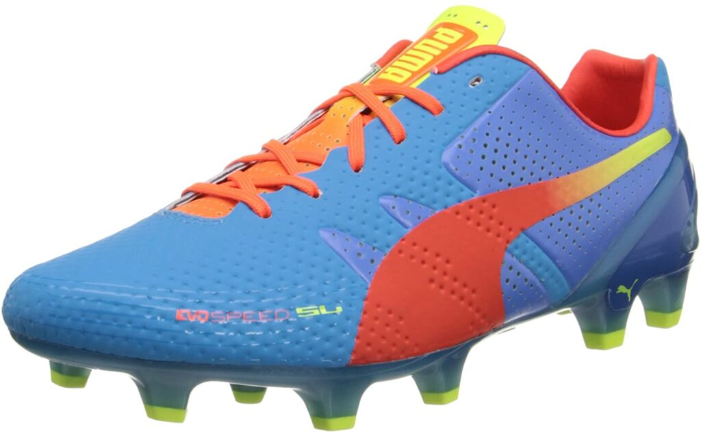 Puma Evospeed 1.2 football boot for shooting and passing