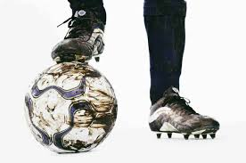 dirty football boots