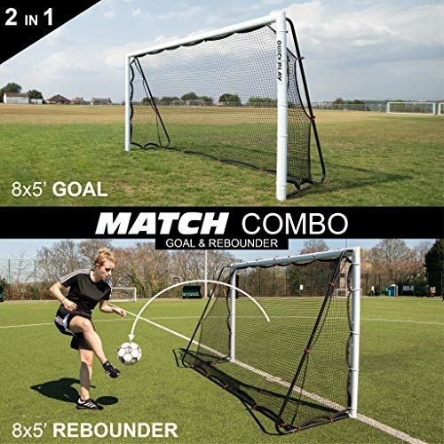Quick play soccer rebounder