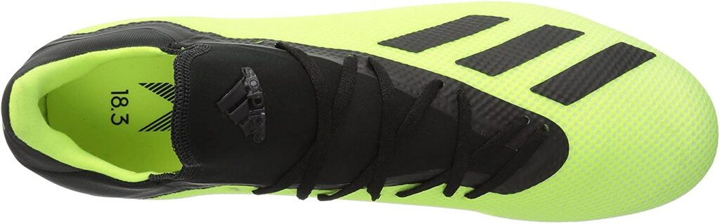 Adidas men X 18.3 football boot for shooting and passing