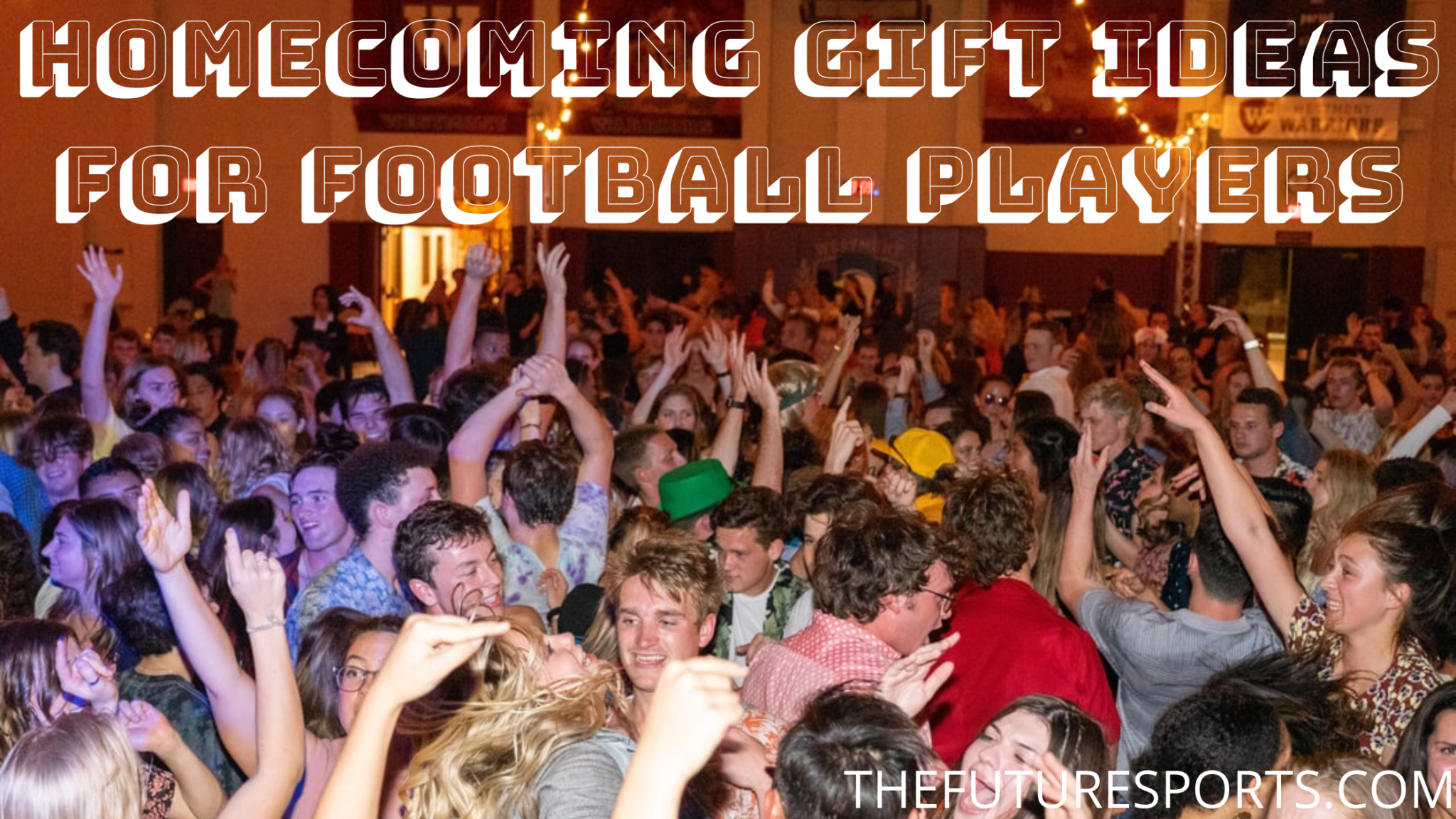 Homecoming gift ideas for football players