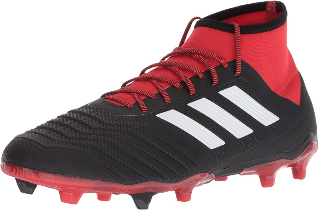 adidas Predator 18.2  football boot with socks attached