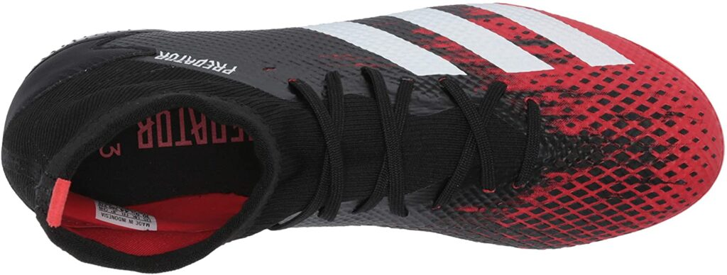 adidas Predator 20.3 football boot with socks attached