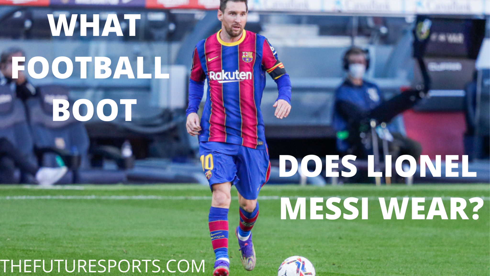 What football boots does lionel Messi wear