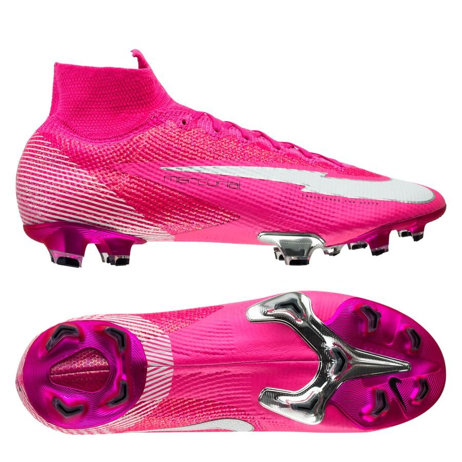 Pink Mbappe Superfly Rosa Football Boots